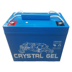 12v80Ah Crystal Gel