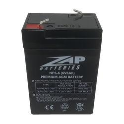 6v6Ah AGM Battery