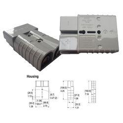 SB350 Grey   350A Connector